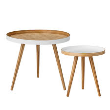 Cappuccino <b>Coffee Table 2pcs</b> - Bloomingville @ RoyalDesign