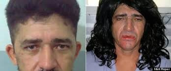 Ronaldo Silva allegedly shaved himself and dressed in his wife's pretty clothes to escape a Brazilian prison. Get Weird News Newsletters: Subscribe - r-RONALDO-SILVA-large570