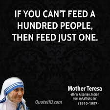 Mother Teresa Quotes On Charity. QuotesGram via Relatably.com