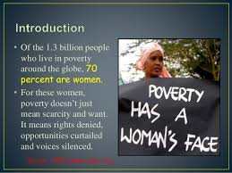 Image result for women 70 percent world poor