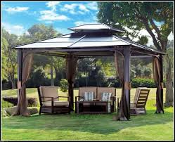 gazebo patios roof cover