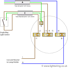 radial circuit light wiring diagram   light wiringradial circuit last ceiling rose  new harmonised colours
