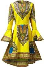 African Pattern Dress - Amazon.com