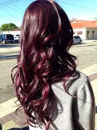 Burgundy Hair Colors