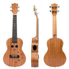 Kmise Concert Ukulele Hawaii Guitar Mahogany <b>23 inch</b> Bridge ...