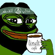 Isis pepe with coffie | Pepe the Frog | Know Your Meme via Relatably.com