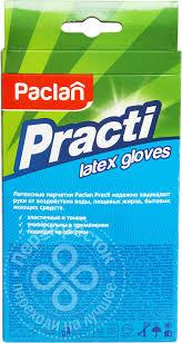 <b>Перчатки Paclan латексные</b> М 10шт - купить недорого по цене ...