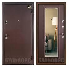 <b>Дверь входная</b> Бульдорс <b>модель</b> 27z с зеркалом