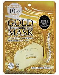 Pure Essence <b>Japan Gals Pure</b> Five Gold Essence Mask, 10 Count ...