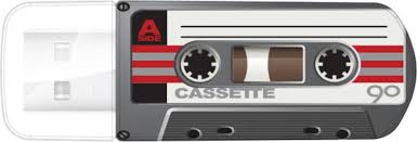 USB <b>Флеш</b>-<b>накопитель Verbatim</b> Mini Cassette Edition , черный ...