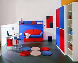 themed red bedroom design modern furniture