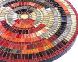 Stained Glass <b>Mosaic Coffee Table</b>, <b>Side Table</b>, <b>Plant</b> Stand, Small ...