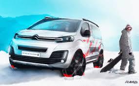 Citroën Spacetourer 4x4 Ë, new concept by Allio Group!