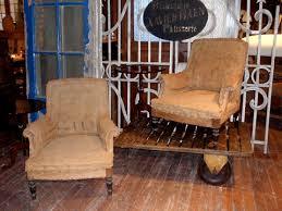 vintage chairs covered in vintage burlap burlap furniture