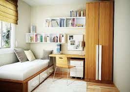 charming bedroom with foldable furniture for small spaces and floating bookcase and desk charming design small tables office office bedroom