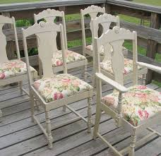 6 french shabby and chic dining chairs furniture by shabbyhomefurniture beach shabby chic furniture
