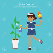house cleaning template web page young girl or w working house cleaning template web page young girl or w working in a maid uniform sprinkles