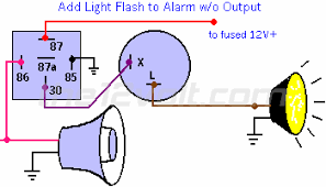 how to connect the siren output to car's horn Siren Wiring Diagram Siren Wiring Diagram #84 siren wiring diagram for the 2008 harley