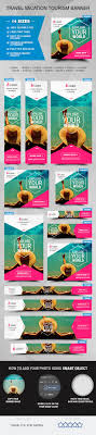 images about advertising and magazine layout ideas on travel vacation tourism banner