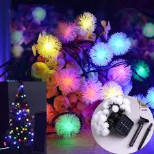 <b>30LED</b> Outdoor Solar <b>String</b> Lights for Christmas Party Patio Garden ...