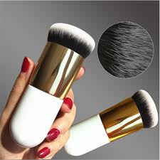 4 Colour <b>New Chubby Pier Foundation</b> Brush Flat Cream Makeup ...