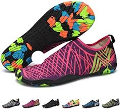 Pink - Water Shoes / Sports & Outdoor Shoes: Shoes ... - Amazon.co.uk