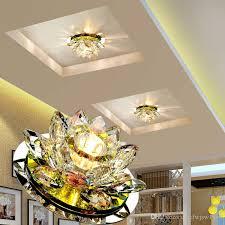 <b>LAIMAIK</b> Crystal <b>LED Ceiling Light</b> 3W AC90-260V Modern Living ...