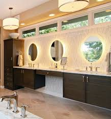 breathtaking bathroom vanity lighting ideas triple round wall mirror bathroom vanity lighting ideas photos image