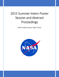 2015 Summer Intern Poster Session and Abstract Proceedings