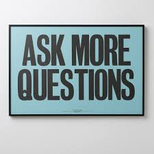 ask more questions print schoolhouse electric ask more questions print