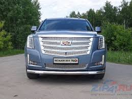 <b>Решетка радиатора верхняя</b> (<b>лист</b>) ( компл ) Cadillac Escalade ...