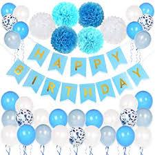 HusDow Birthday <b>Decorations</b> for Boys,Happy Birthday Banner ...