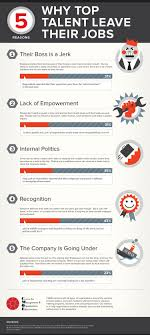 reasons top talent leave their jobs ly 5 reasons top talent leave their jobs infographic