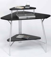 f simple stainless steel base workstation desk with black melamine half bull nose top and bottom shelf as well as corner desk units for home office also amusing home computer