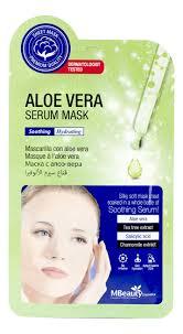 <b>Успокаивающая тканевая маска для</b> лица с алоэ вера Aloe Vera ...