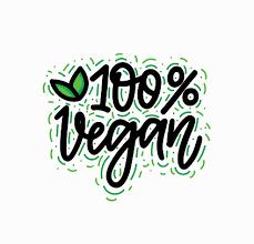 <b>100</b> Per Cent <b>Vegan</b> Vector Handwritten Lettering <b>Calligraphy</b> Eco ...