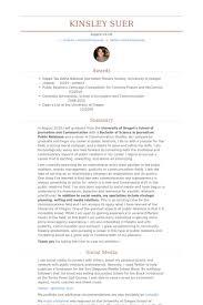 public relations intern resume samples pr resume template