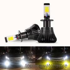 TOPL <b>2Pcs</b> Lampu LED 80W H1 / H3 / H7 / <b>H8</b> / <b>H9</b> / <b>H11</b> / 9005 ...