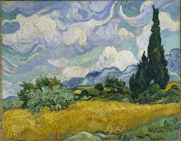 <b>Wheat Field with</b> Cypresses - Wikipedia