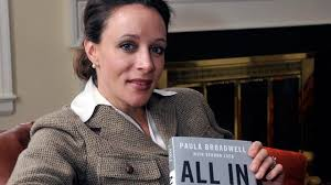 "PHOTO: Paula Broadwell , author of the David Petraeus biography ""All In,"" poses for photos in Charlotte, N"