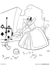 Small Picture Free Printable Alice in Wonderland Coloring Pages Earlymomentscom