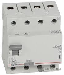 402063, <b>Выключатель дифференциального тока</b> (УЗО) RX³, 4 ...