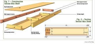 image of floating shelf plans build floating shelves