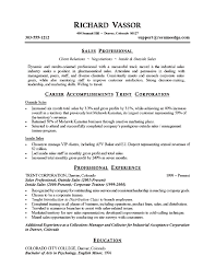 october    essay and resume    sales resume with career accomplishments trent corporation feat professional experience and educaton profile free sample