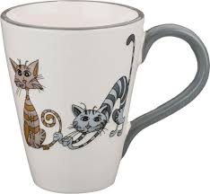 <b>Кружка Lefard</b> Озорные коты, 188-115, <b>350</b> мл Керамика - купить ...