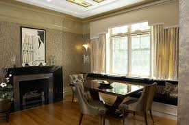 view in gallery art deco dining area with elegant furniture art deco dining