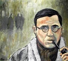 Resultado de imagem para Jean Paul Sartre e Vergílio Ferreira