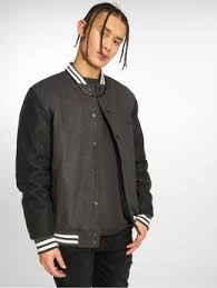 <b>Urban Classics Куртка</b> / Университетская <b>куртка Half Leather</b> ...