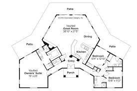 Spanish Style House Plans   Santa Ana     Associated DesignsSpanish Style House Plan   Santa Ana     Floor Plan