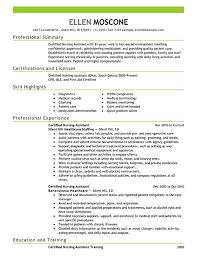 responsibilities of a nursing assistant   certified nursing    certified nursing assistant resume examples